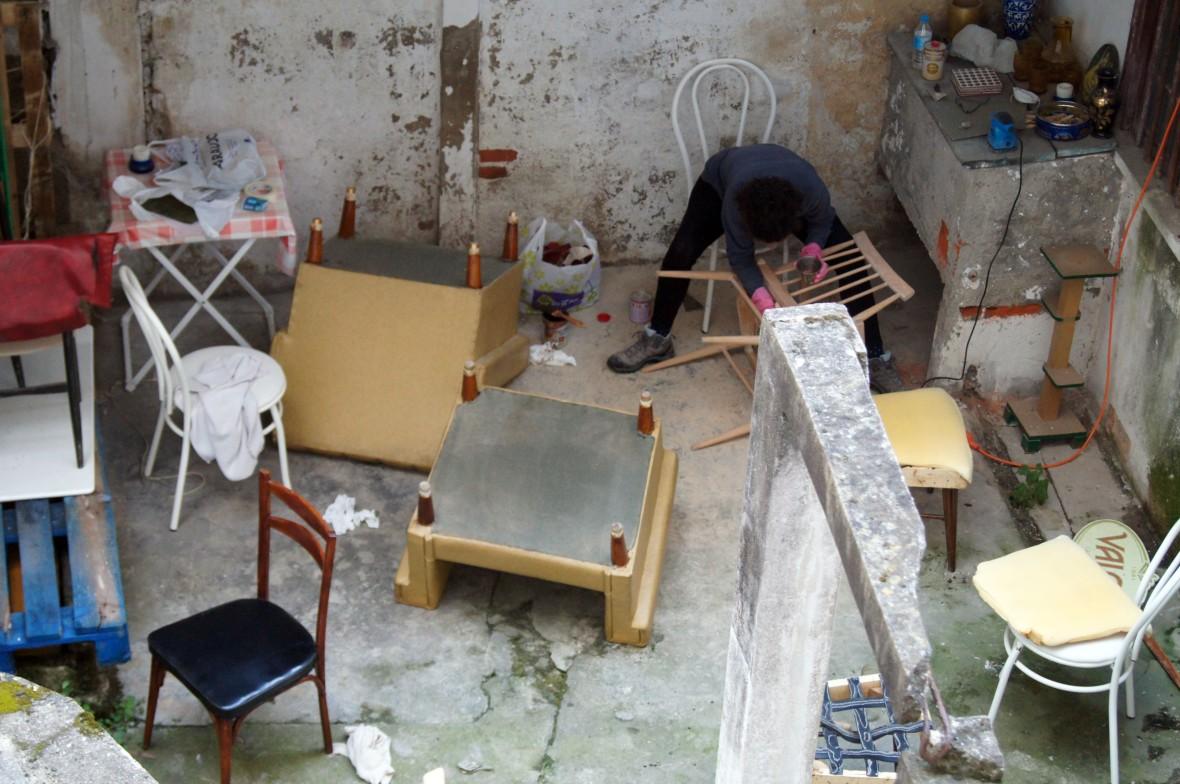 Restauraci n de muebles vintage condec rate for Restauracion muebles vintage