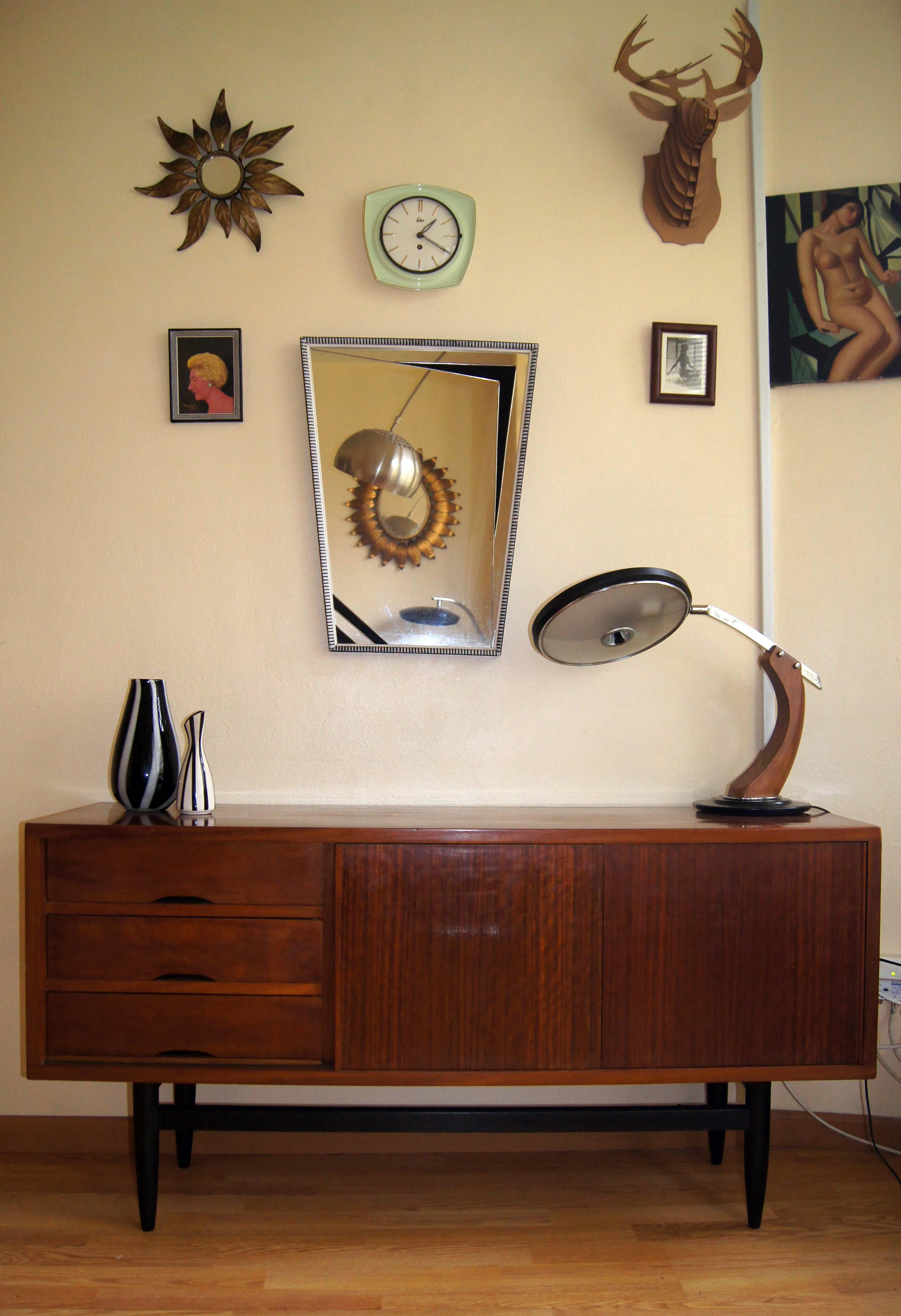 Mueble aparador de teca dinamarca a os 60 condec rate - Muebles daneses anos 50 ...