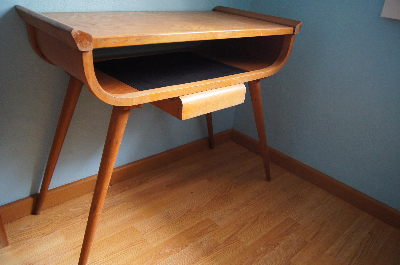 Consola mesa auxiliar de los a os 50 condec rate - Muebles anos 50 ...
