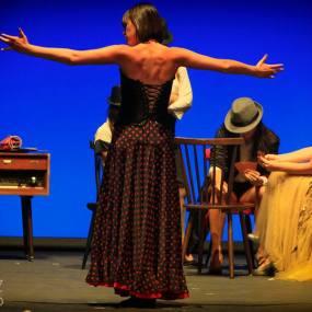 Decorado para Cabaret Sin Piedad. Teatro Colón. Foto Álex Álvarez.