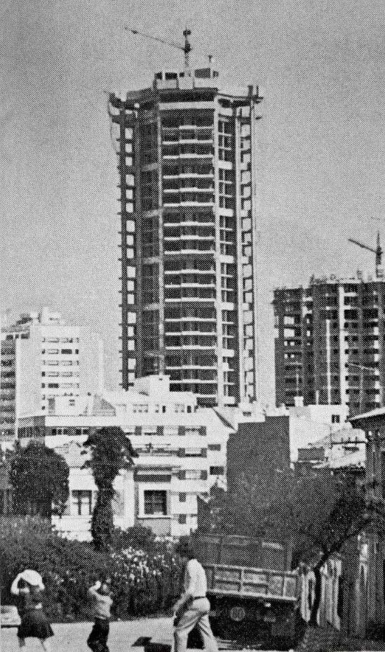 torre hercon y trebol construccion
