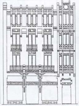 plano-fachada-calle-preguntoiro-modernista